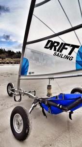char a voile Drift sailing