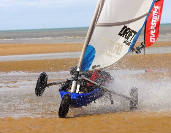 Video du grand prix kart à voile Omaha Beach