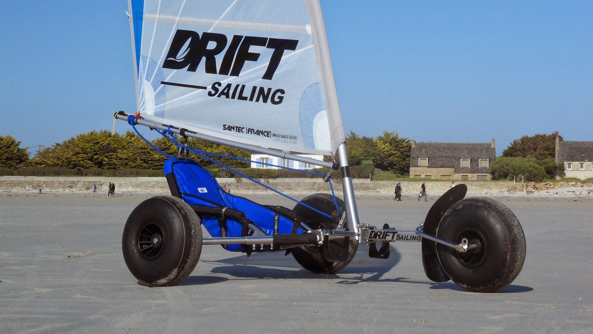 Nouveau Char A Voile Monster Kart Drift Sailing Char A Voile Loisir Et Competitiondrift Sailing Char A Voile Loisir Et Competition