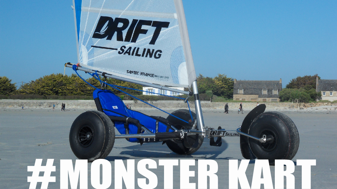 Monster kart char à voile